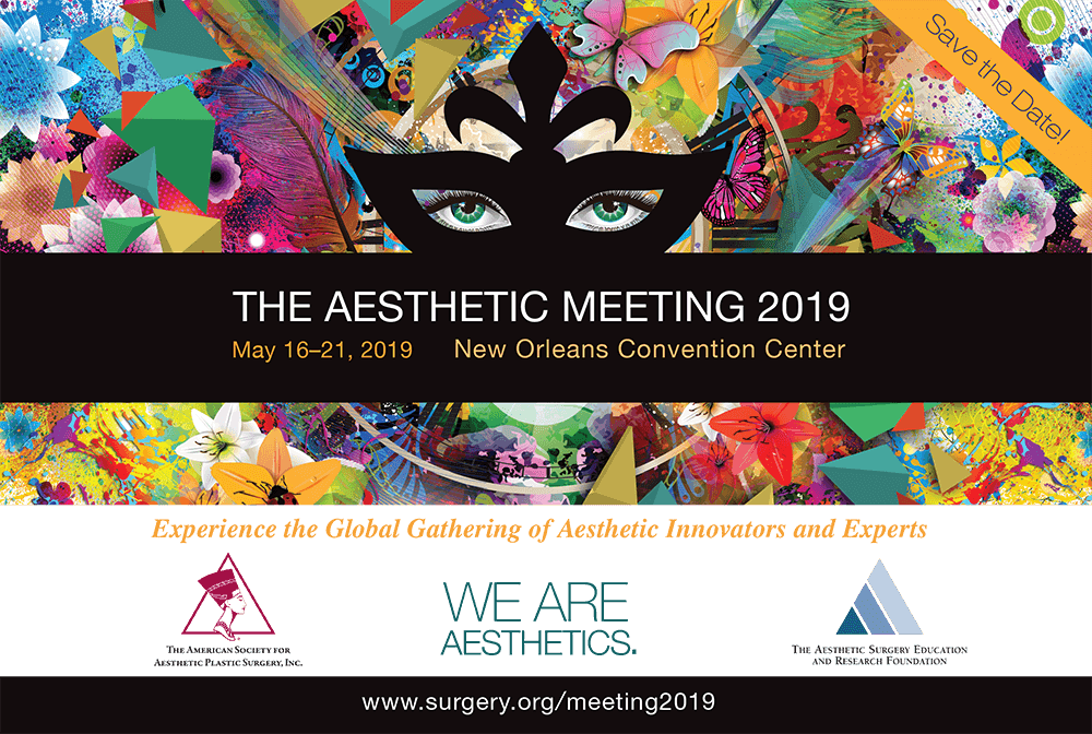 Aesthetic Meeting 2019 Banner