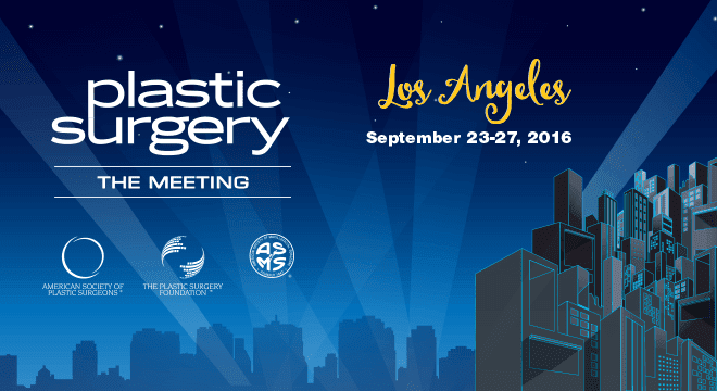 Plastic Surgery The Meeting September 2016