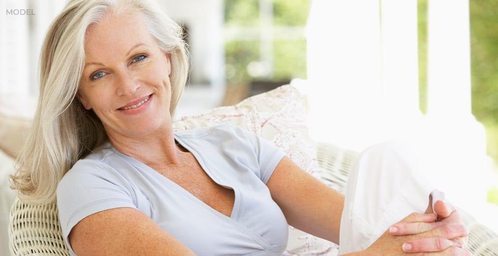 Older Caucasian Woman